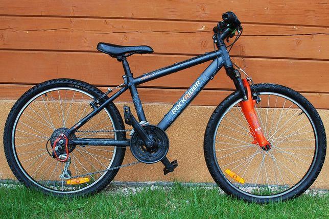 "Rower górski MTB ROCKRIDER 5.2 24"" dla dzieci 9-12 lat"