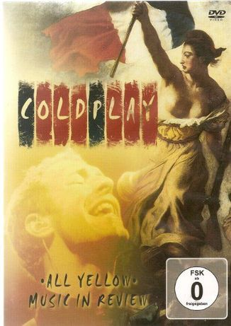Coldplay All Yellow. Music in Review DVD
