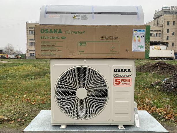 Инверторный кондиционер Osaka STVP-24HH(до 80 кв.м) не БУ тепловой нас