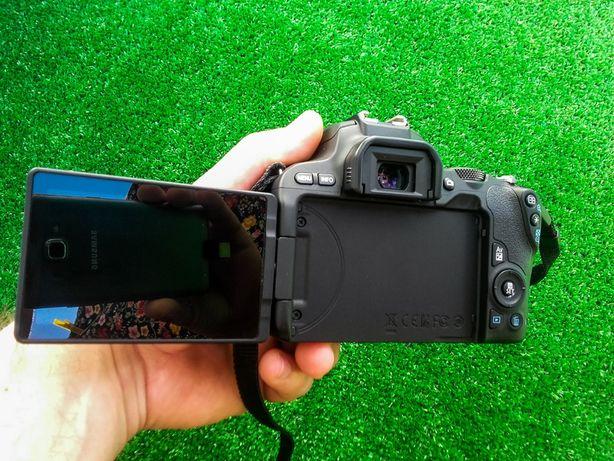 Canon 200D , matówka z klinem i rastrem