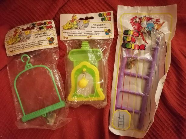 Brinquedos para piriquitos