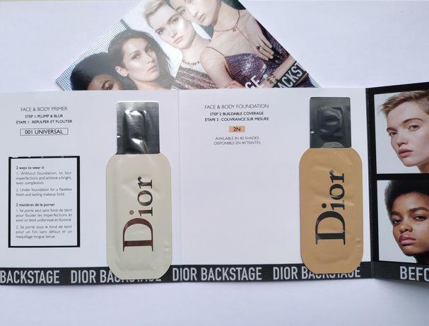 Dior тональный+праймер пробник