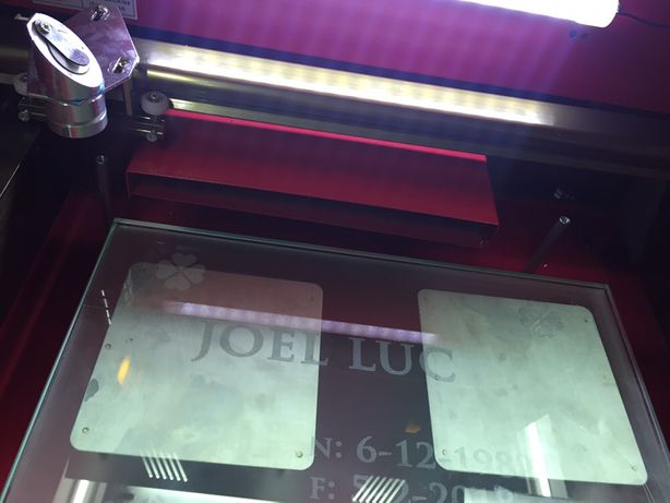 Mesa elevatória manual para máquina laser