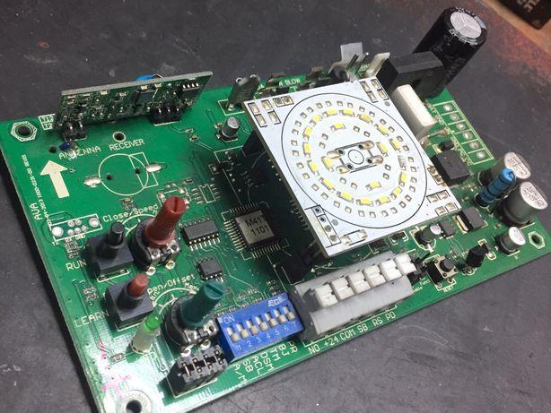 """Reparação de placas de automatismos referente a """"portōes de garagem"""""""