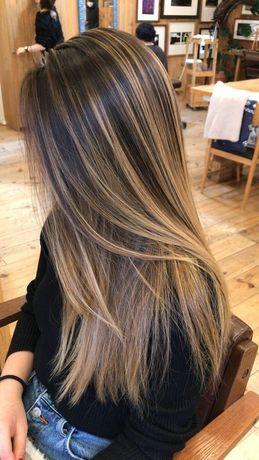 Модель на наращивание / коррекцию волос
