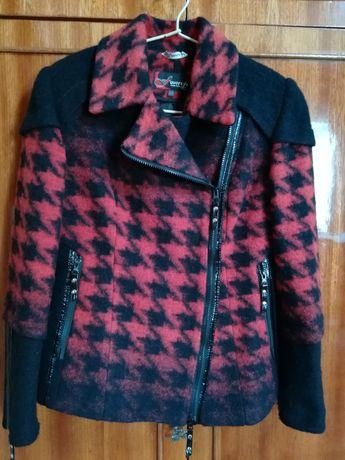 Короткая куртка - пальто