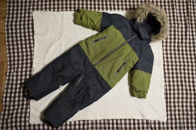TOPOMINI 92 зимний Комбинезон для мальчика 2-3 года