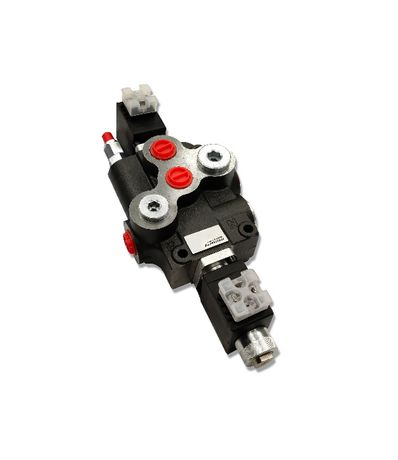 Rozdzielacz hydrauliczny 1 SEK 80L ELEKTRYCZNY 12V