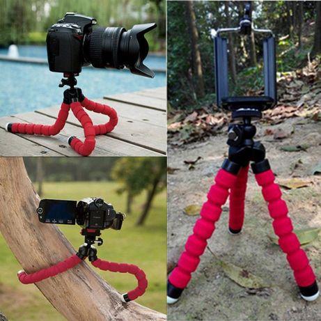 Tripé flexível para tirar fotos