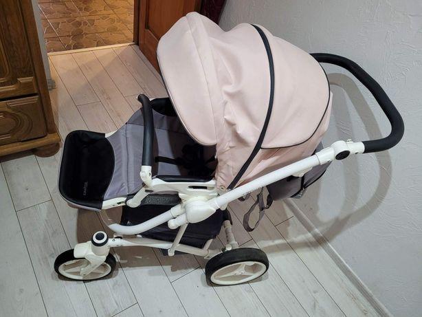 Wózek dziecięcy głęboko spacerowy 2w1 bebetto torrino