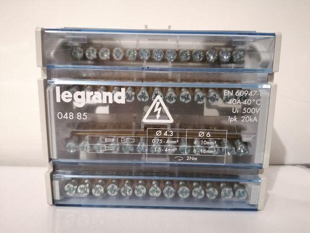 Bloco de repartição 4 pólos- Legrand 04885