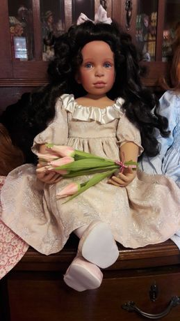 Lalka porcelanowa. Pamela Erff. Muffie.