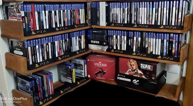 Playstation 2, 3, 4, 5 - suporte de arrumação jogos - oferta de portes