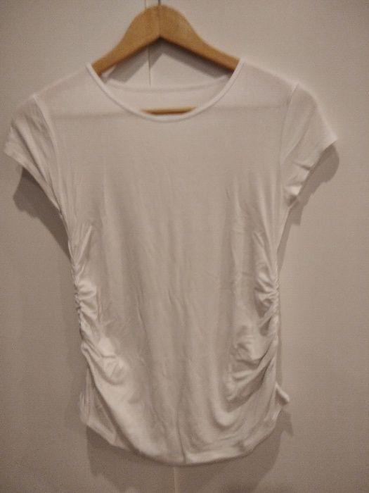 bluzki (2 szt) ciążowe z krótkim rękawem roz S Kościan - image 1