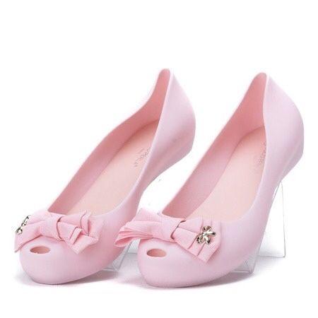 Różowe balerinki Meliski 39