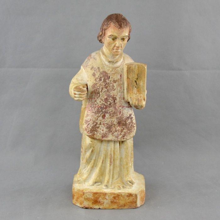 Figura de S. Lourenço em Terracota séc. XVII / XVIII