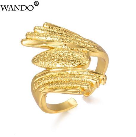 Кольцо Wando золотистое