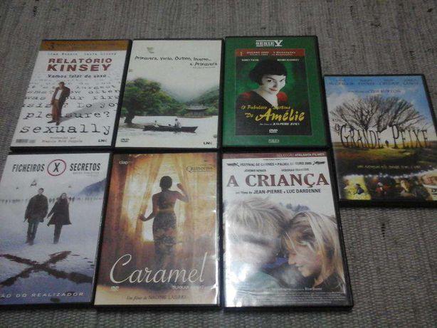 Vários DVDs Premium