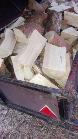 drewno drzewo opalowe sosna suche