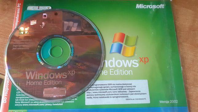 Windows XP Home Edition SP2 z 2002 r.