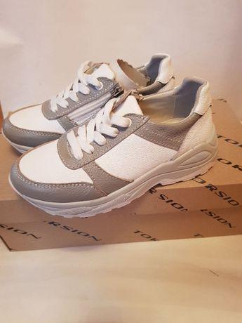Взуття для дітей: білі кросівки, ТМ Torsion, р.31