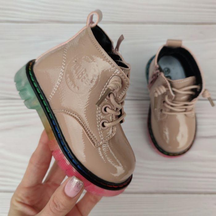 Модные демисезонные ботинки Днепр - изображение 1