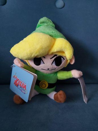 Nowy Pluszak Zelda Pluszowy Link Metka Maskotka Nintendo Zabawka