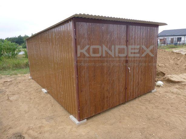 Garaż Blaszany Blaszak Wzmocniony Garaże Wzmocnione 3x4 3x5 3x6