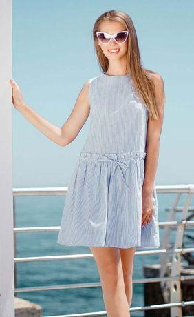 Летнее натуральное платье