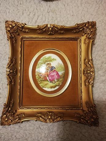 Obrazek porcelanowy Fragonard Love Story