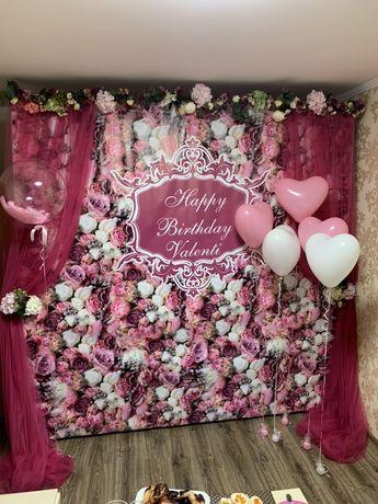 Фотозона Шанель баннер, фотозона на свадьбу , девушке, юбилей