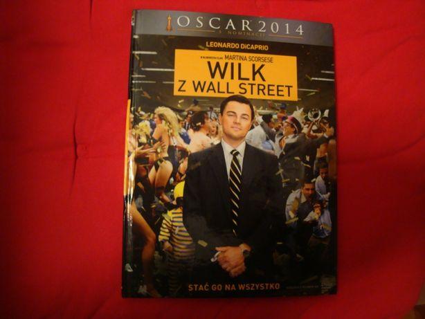dvd Wilk z Wall Street z Leonardo diCaprio
