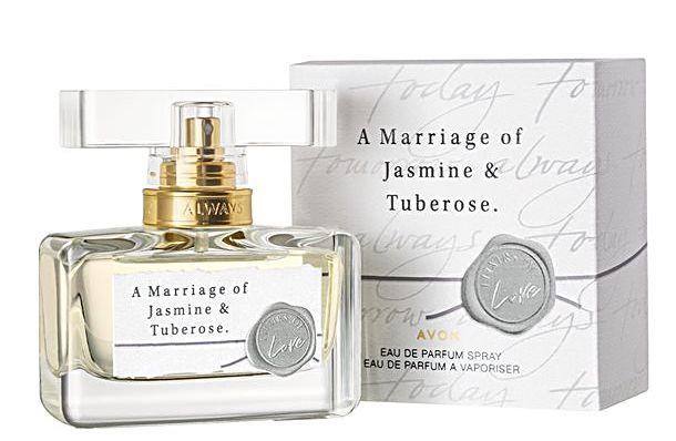 Avon A Marriage of Jasmine & Tuberose