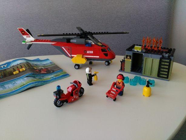 Лего оригинал! 60108 Пожарная команда быстрого реагирования.