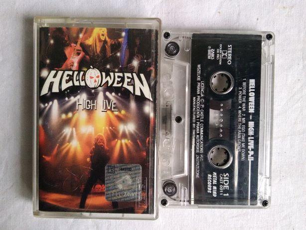 Kaseta audio Helloween High live 1 i 2