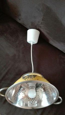 Lampa kuchenna w stylu vintage