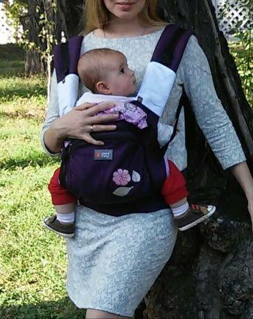 Переноска рюкзак кенгурушка слинг
