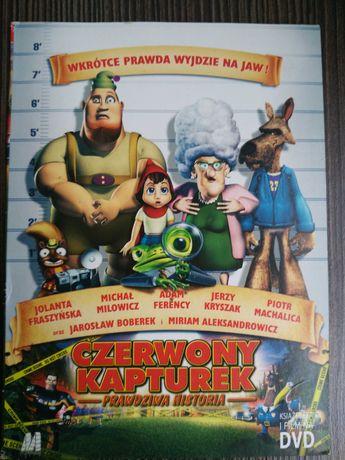 Czerwony Kapturek - prawdziwa historia DVD