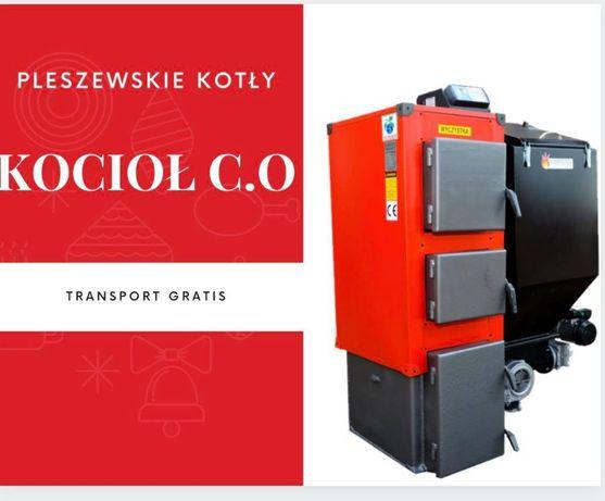 Kocioł 19 kW do 120 m2 PIEC na EKOGROSZEK Kotly z PODAJNIKIEM 16 17 18