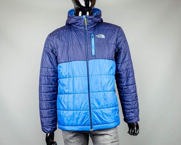 Фирменная утеплённая куртка The North Face.Демисезонный пуховик.Nike