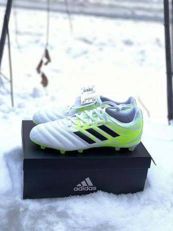 Бутси копочки Adidas Copa 20.3 FG J 33 34 35 36 37 38 38.5 шкіряні