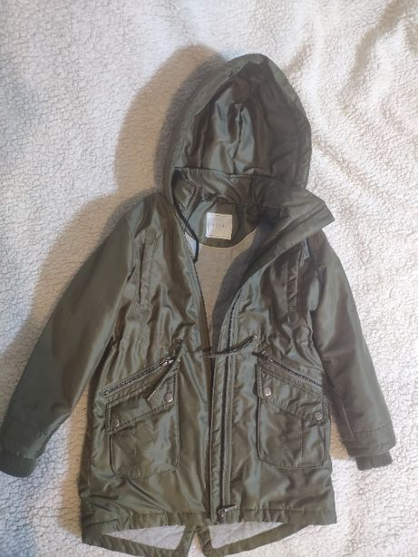 Куртка парка Next 122 размер демисезонная