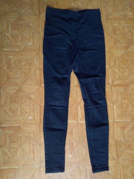 Spodnie ciążowe HM czarne jeansy 40 L