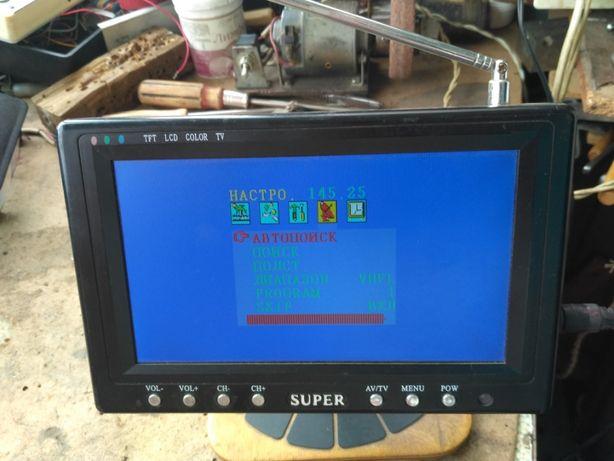 Портативный телевизор Super 7 дюймов