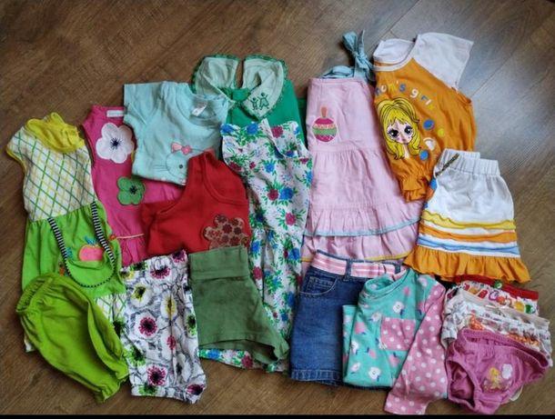 Пакет вещей на девочку, летние вещи