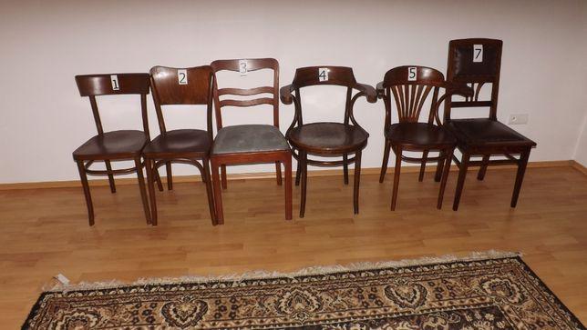 Krzesła po renowacji.