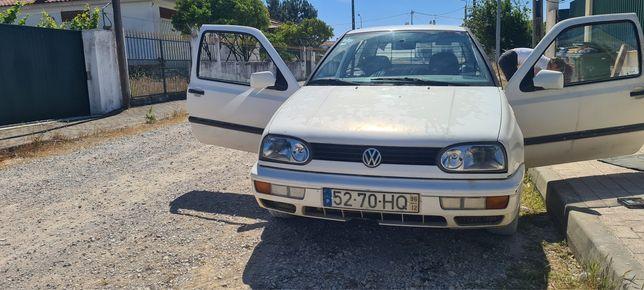 Vendo Ou troco Volkswagen Golf 3 de 1996 1.9 D comercial.