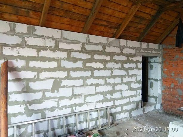 Будівельні роботи, ремонт даху, покрівля