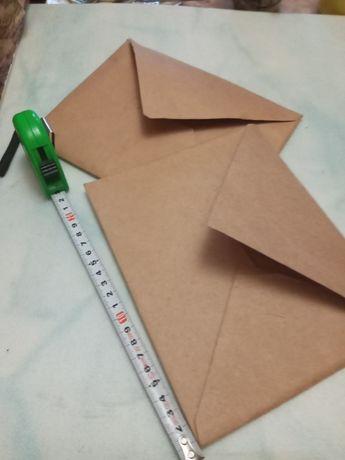 Конверты  крафт бумага прочные