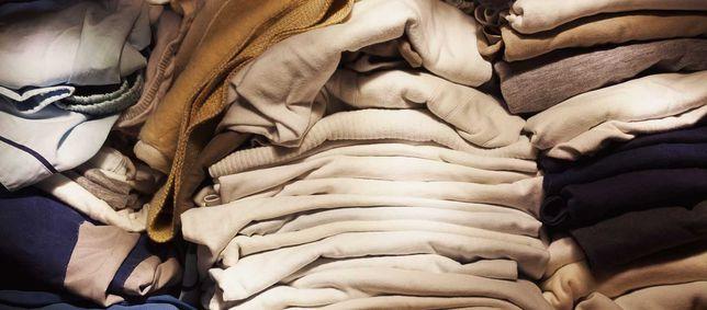 Worek ubrań damskich i męskich Marowe Stan Idealny